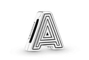 Charm Clip Lettre A PANDORA Reflexions en Argent 29,00 €