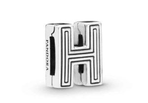 Charm Clip Lettre H PANDORA Reflexions en Argent 29,00 €