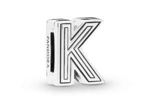 Charm Clip Lettre K PANDORA Reflexions en Argent 29,00 €