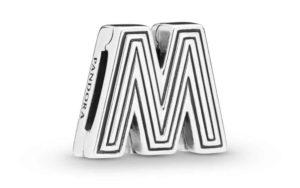 Charm Clip Lettre M PANDORA Reflexions en Argent 29,00 €