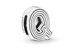 Charm Clip Lettre Q PANDORA Reflexions en Argent 29,00 €