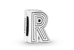Le Charm Clip Lettre R PANDORA Reflexions en Argent 29,00 €