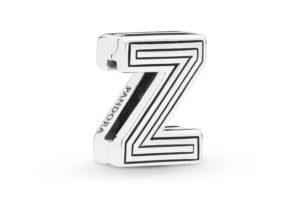 Charm Clip Lettre Z PANDORA Reflexions en Argent 29,00 €
