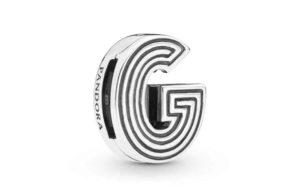 Charm ClipLettre G PANDORA Reflexions en Argent 29,00 €