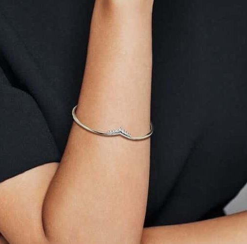 Rendu du Bracelet Jonc Ouvert Vœu Tiare 79,00 € - 598338CZ