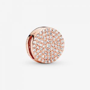 Charm Pavé Rond Or Rose 59,00 €
