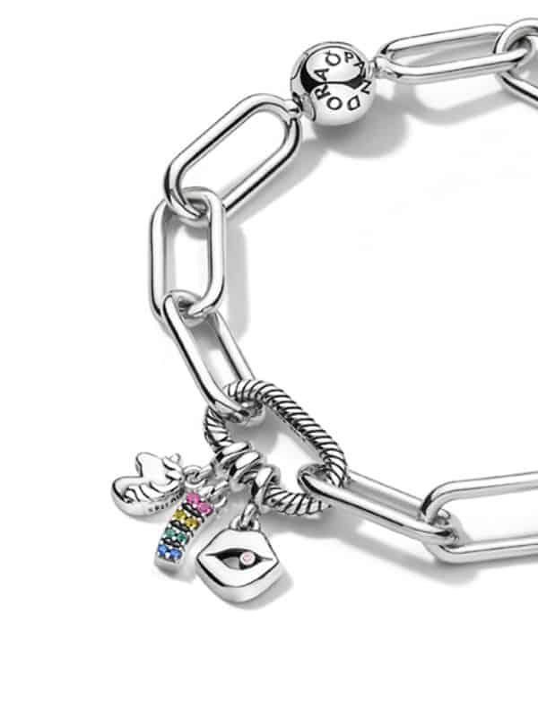 bracelet pandora maille serpent