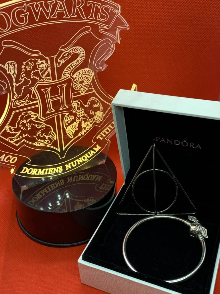 Bracelet vif d'or Harry Potter Pandora 79€