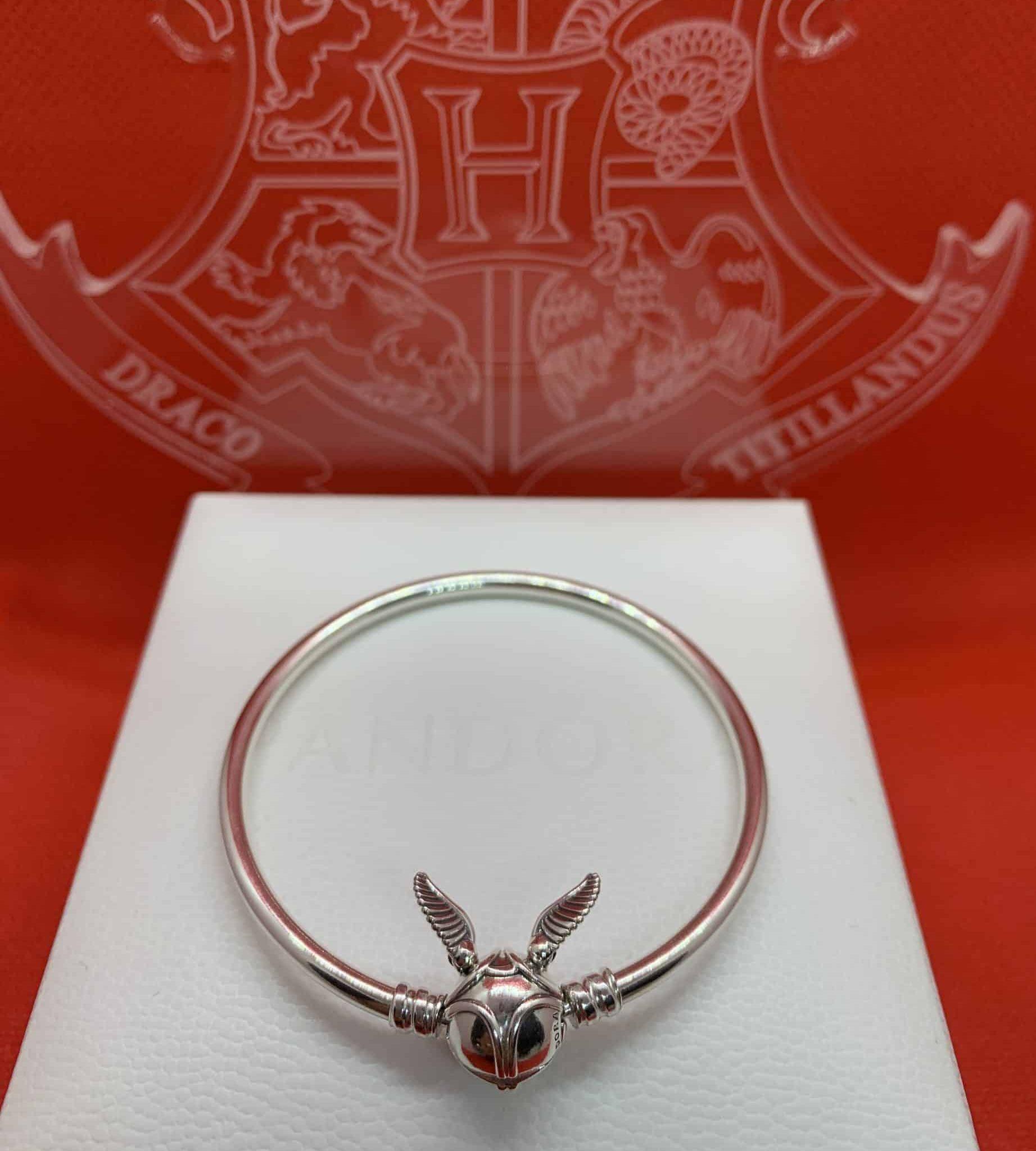 Bracelet Vif d'or Harry Potter Pandora Ailes levées