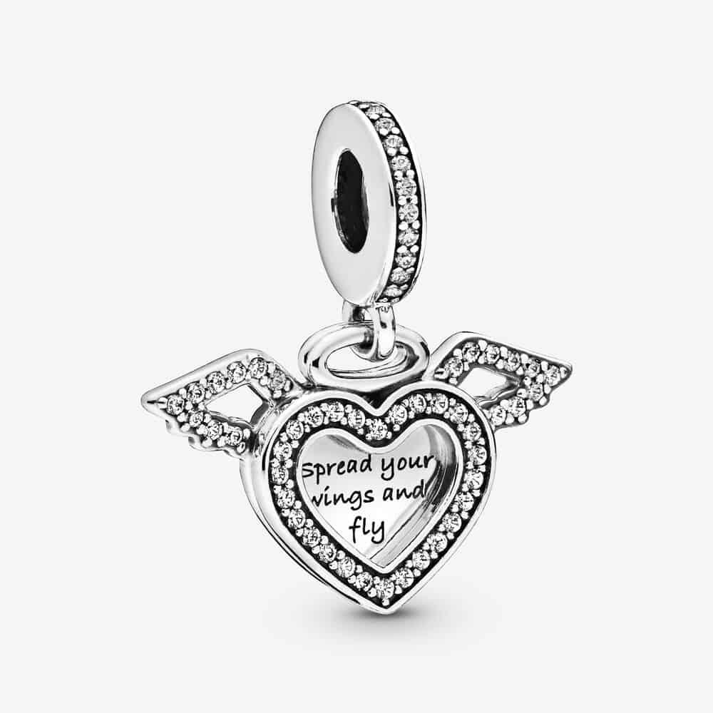 Charm Pendant Cœur et Ailes d'Ange 59,00 € - 798485C01