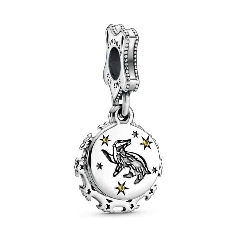 Charm Pouffsoufle Pandora Harry Potter