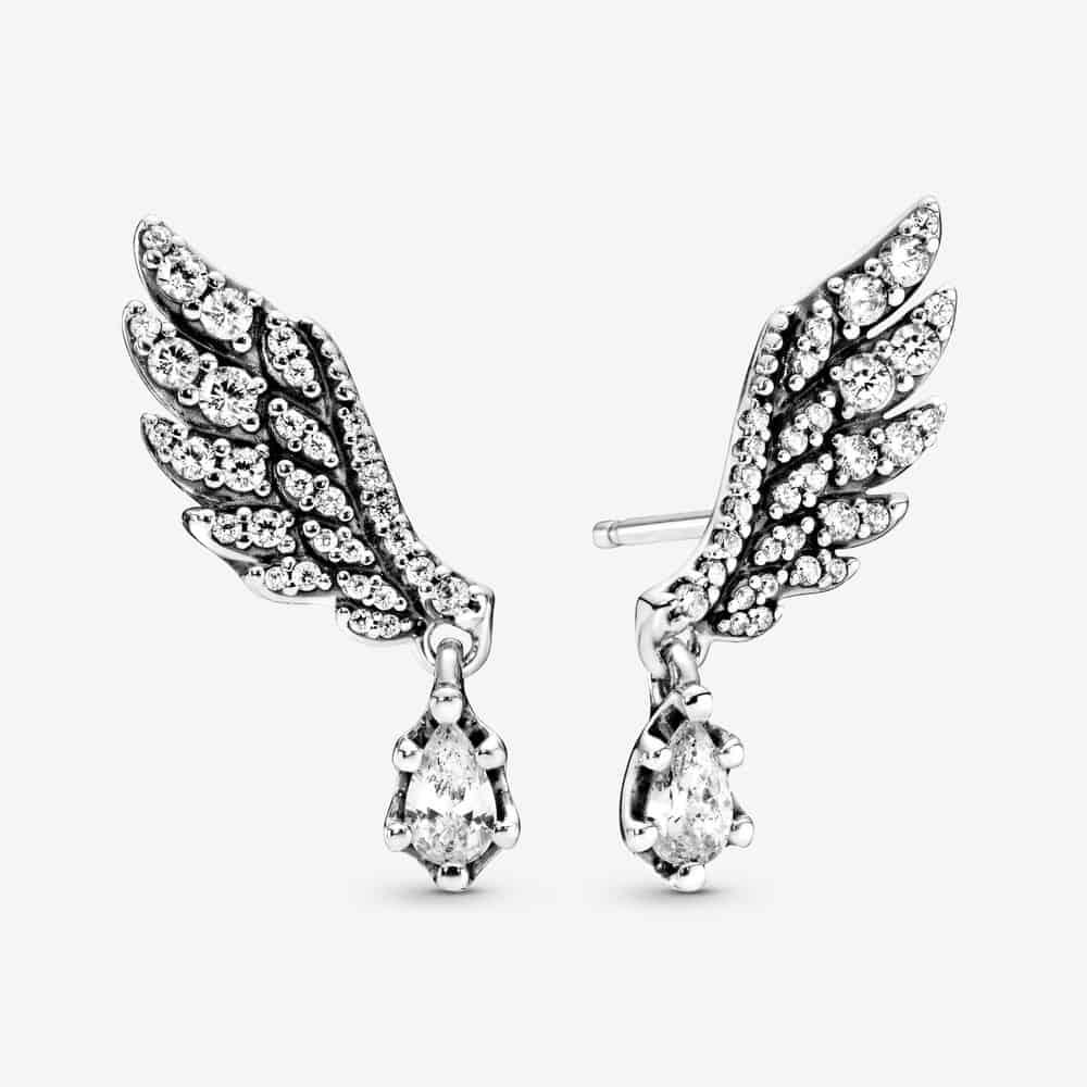 Clous d'Oreilles Aile d'Ange Pendante 89,00 € - 298493C01