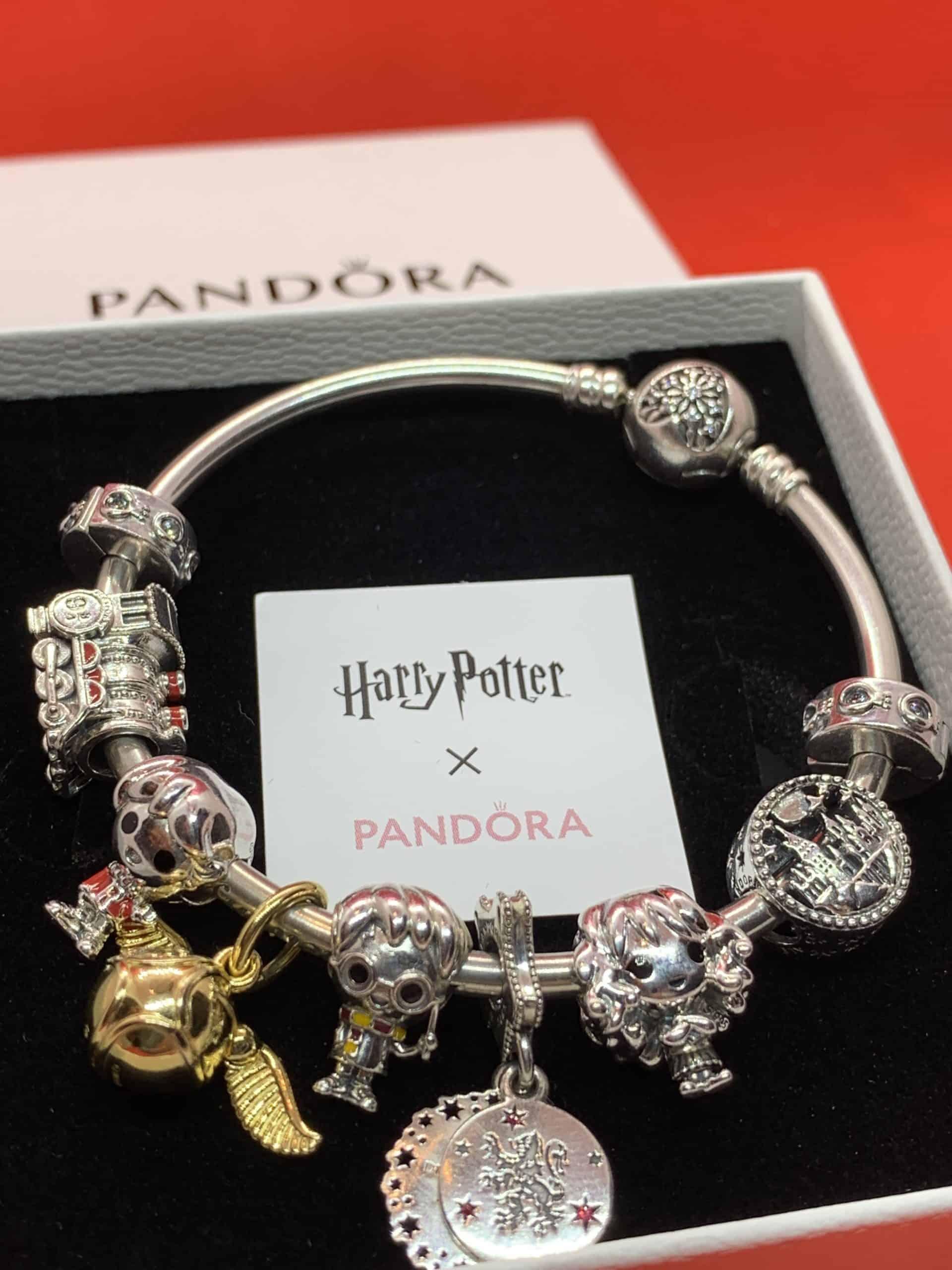 Mon bracelet au complet avec l'arrivée de Ron et Hermione