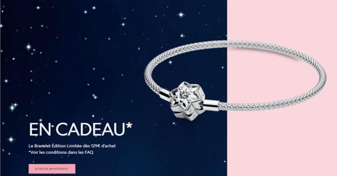 Bracelet offert pour 129€ d'achats