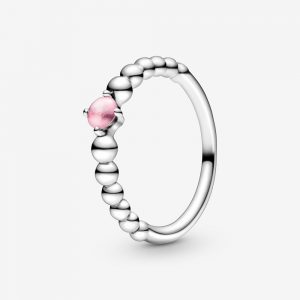 Bague Perlée Rose Pétale 45,00 €