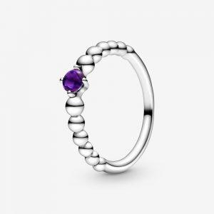 Bague Perlée Violette 45,00 €