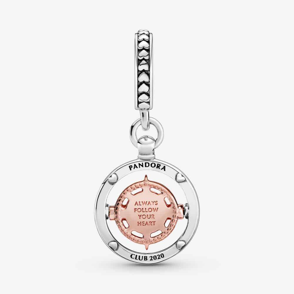 Charm Pendant Boussole Club Pandora 2020 69€ - 788590C01
