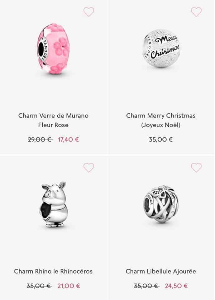 Les charms soldes Pandora