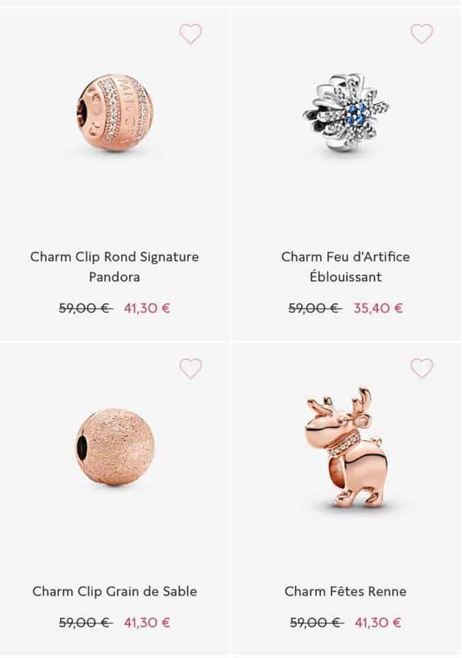 Charm soldes Pandora 2020