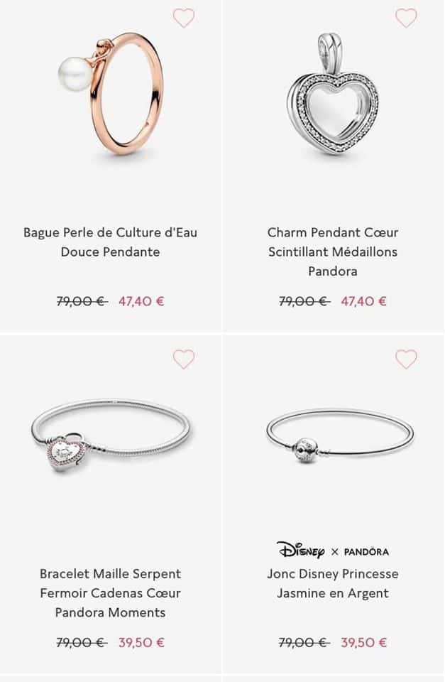 Bracelets Soldes Pandora 2020