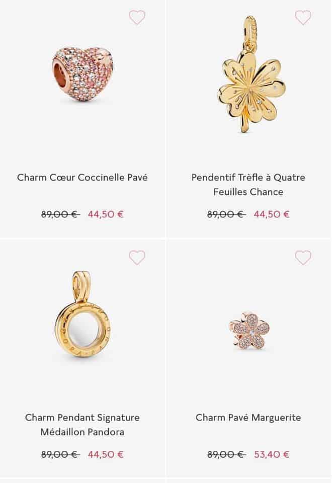 Des bijoux soldes Pandora 2020