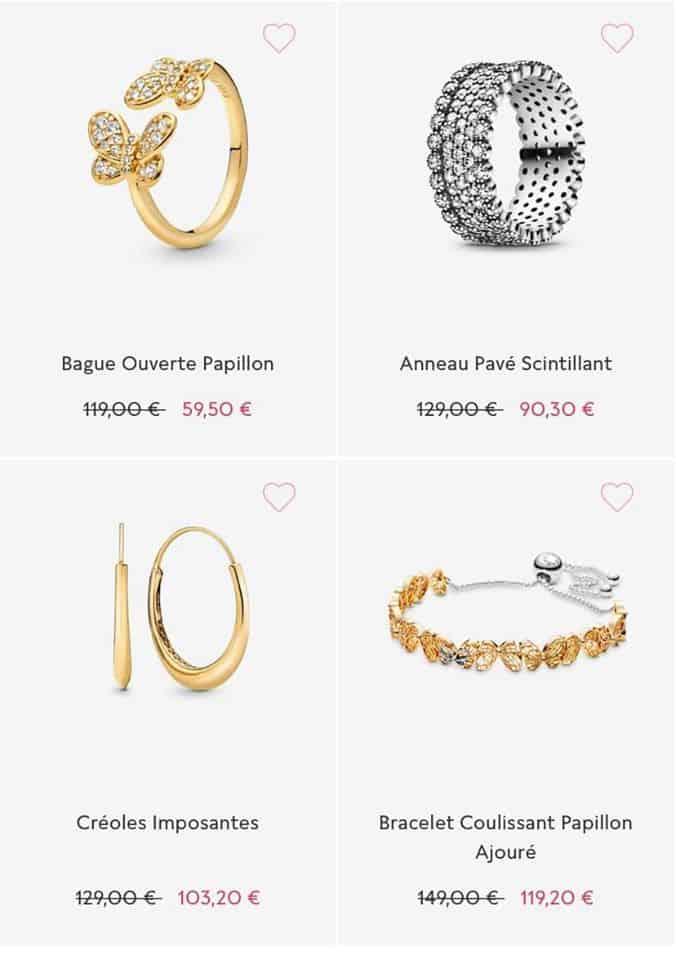 Bijoux Papillon Soldes Pandora 2020