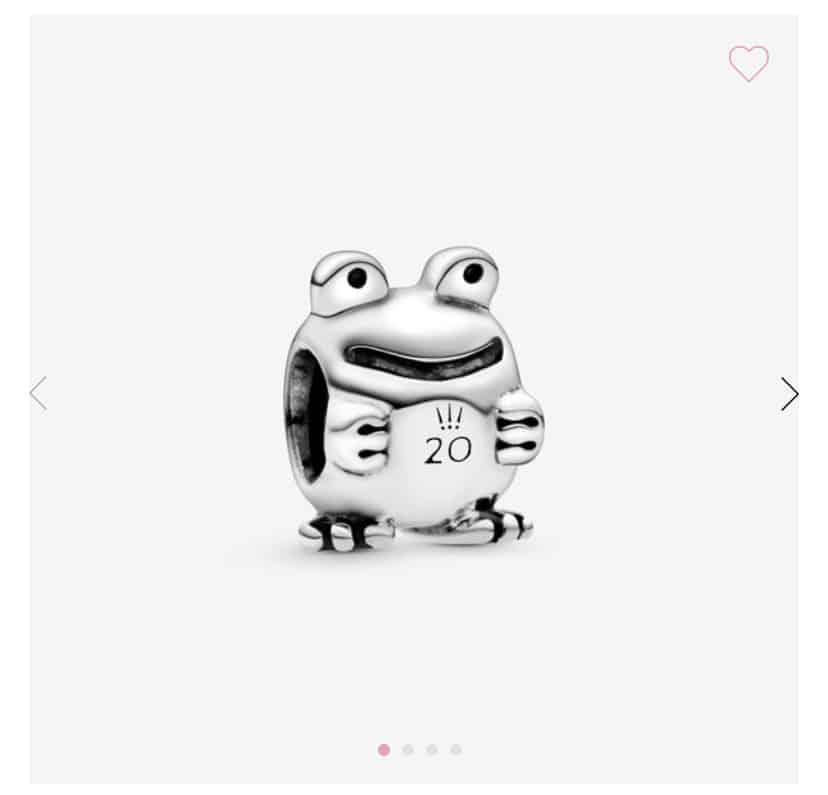 20 ans Pandora : La grenouille