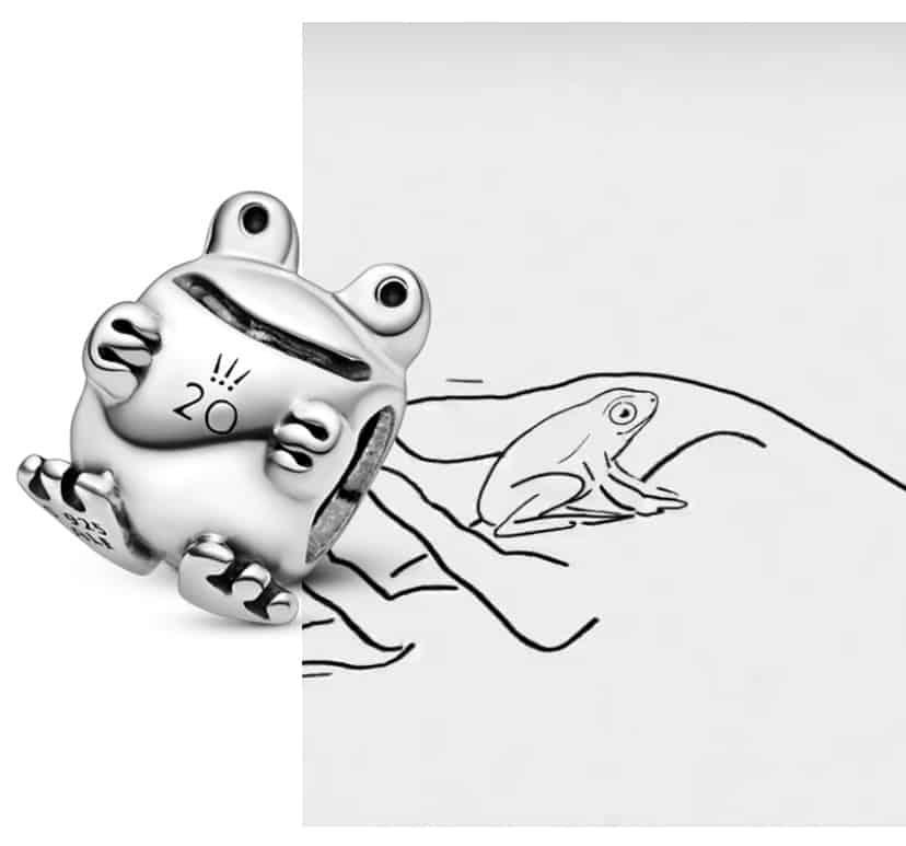 Pandora 2 ans : Storyboard Grenouille