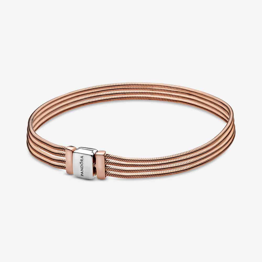 Bracelet Maille Serpent Multi-Rangs Pandora Reflexions 129,00 €