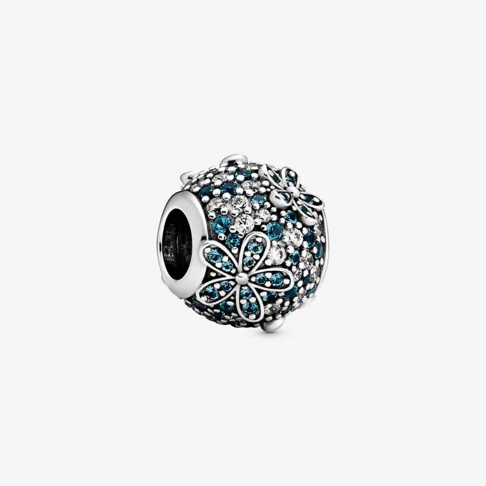 Charm Marguerite Pavé Bleu-Vert 69,00 €