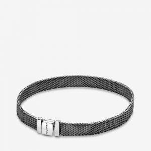 Bracelet en maille tissée Pandora Reflexions Noir 59€ - 598400C00