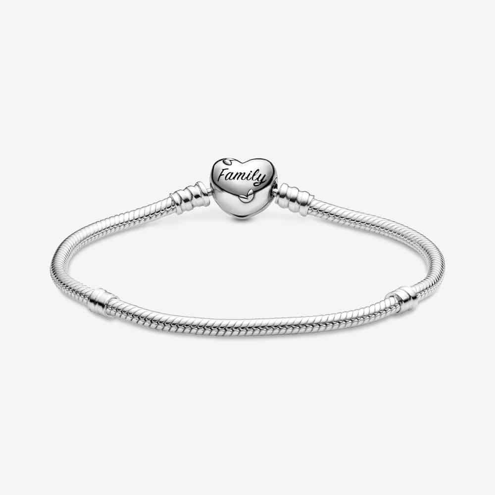 Bracelet Maille Serpent Fermoir Cœur Arbre de Vie Pandora Moments 69,00 € - 598827C01