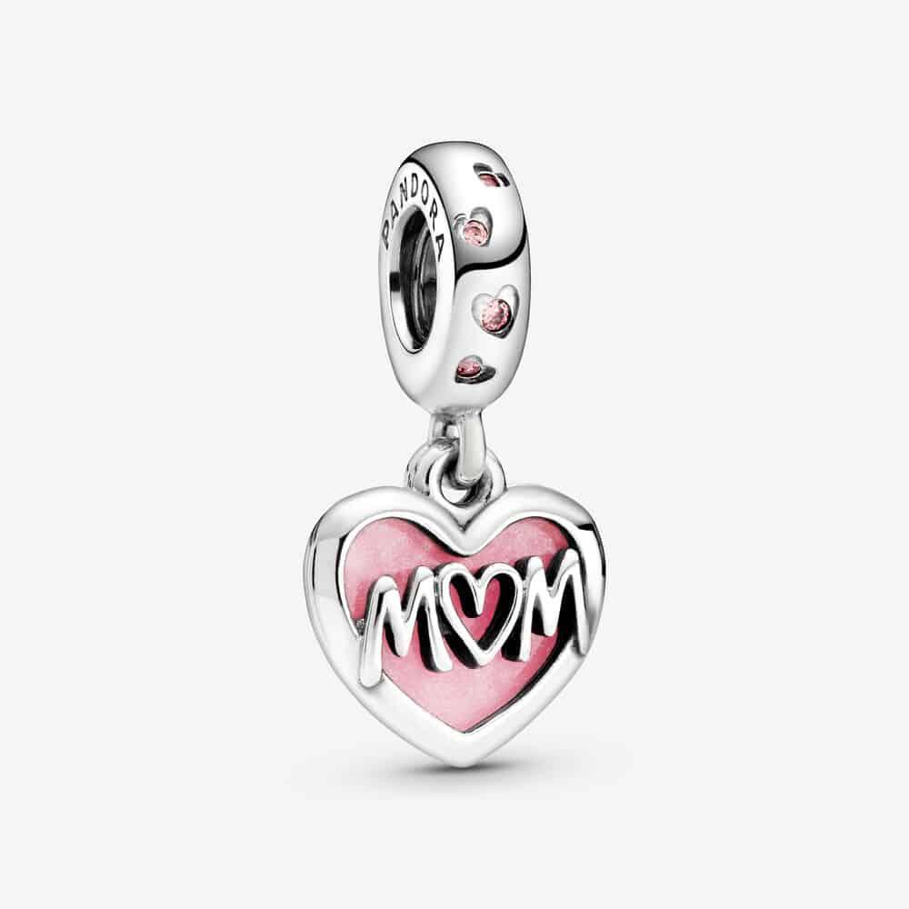 Charm Pendant Cœur Inscription Mum (Maman) 49,00 € - 798887C01