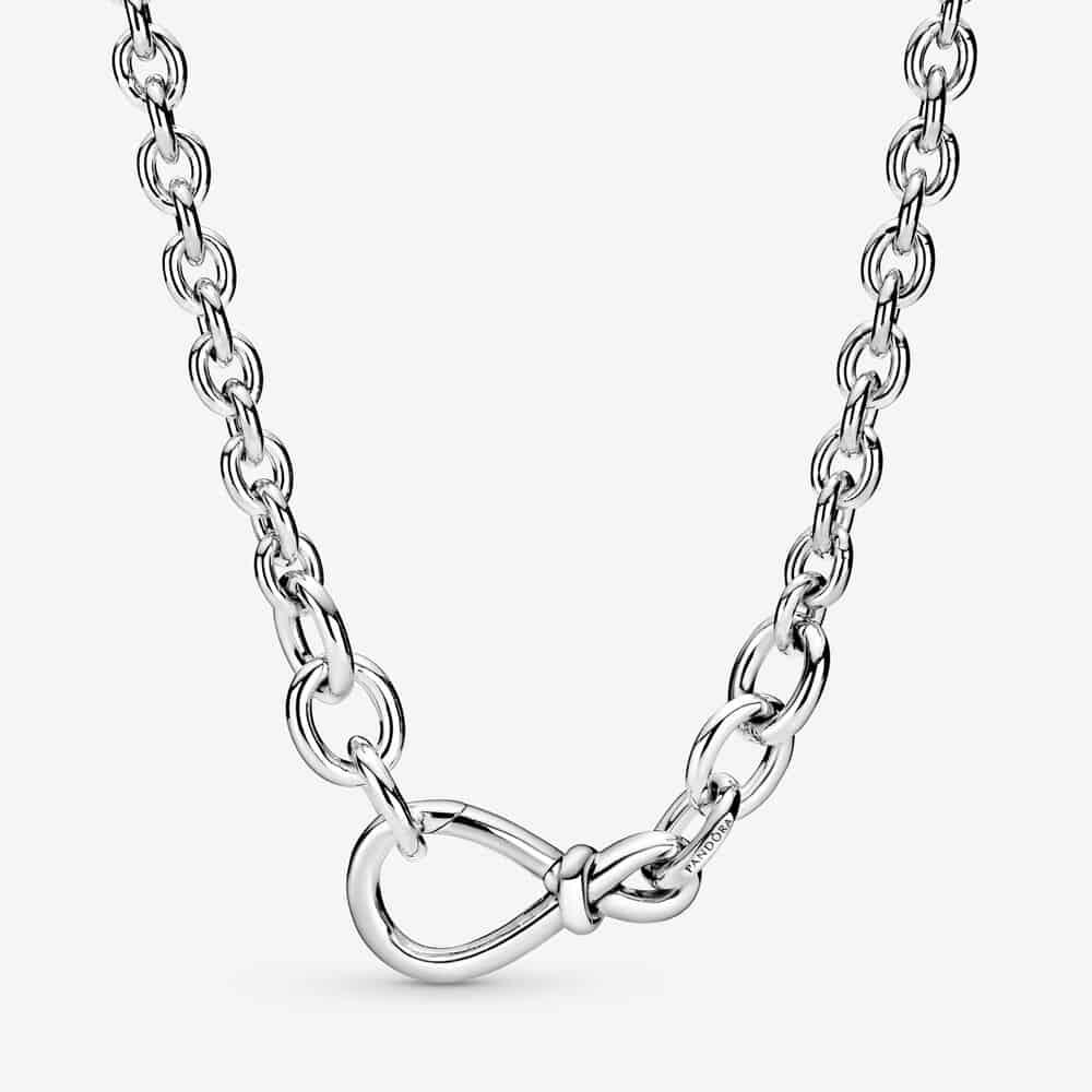 Collier Chaîne Nœud Infini Imposant 149,00 € - 398902C00