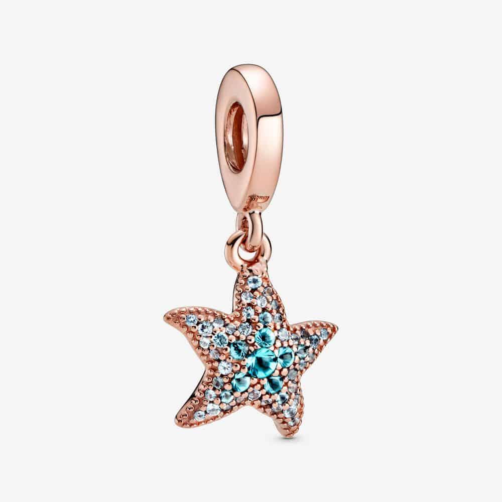 Charm Pendant Étoile de Mer Scintillant 59,00 €