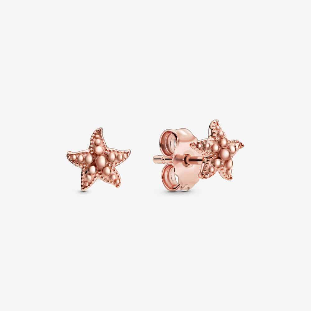 Clous d'Oreilles Étoile de Mer Perlés 49,00 €