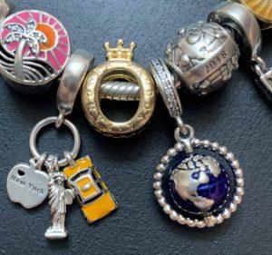 Globe et New York Bracelet Voyage