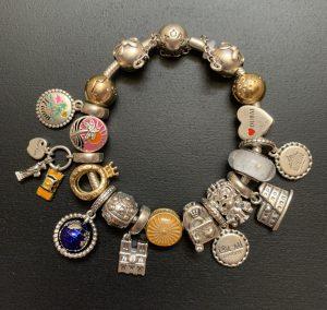 Mon bracelet voyage Pandora s'agrandit