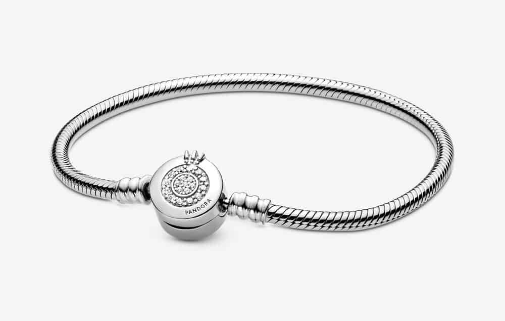 Bracelet Maille Serpent O Couronné Scintillant Pandora Moments 69,00 € - 599046C01