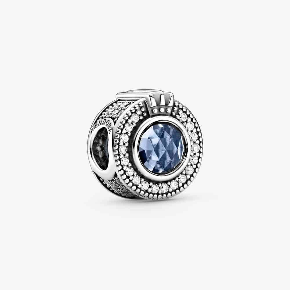Charm O Couronné Bleu Scintillant 79,00 € - 799058C01