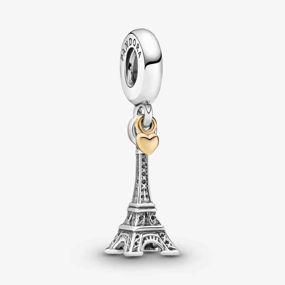 Charm Pendant Tour Eiffel Paris et Cœur 69,00 €