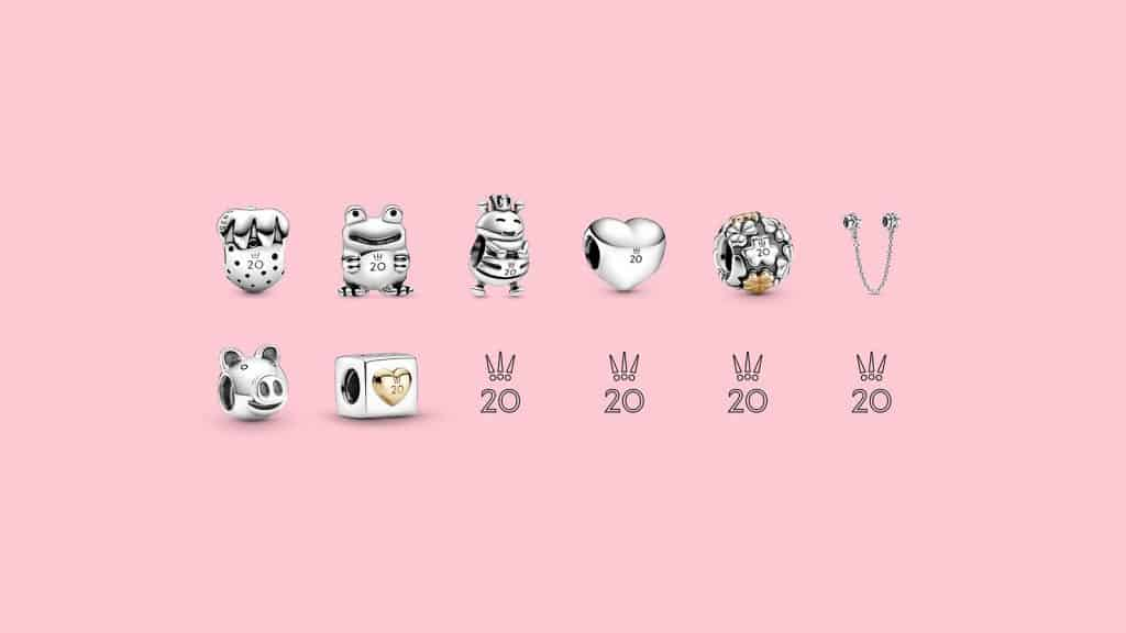Collection 20 ans Pandora