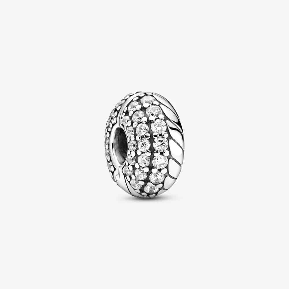 Charm Clip Motif Maille Serpent Pavé 35,00 € - 799089C01