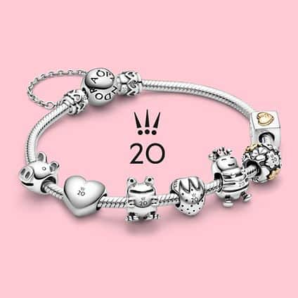 La collection 20 ans Pandora en Août