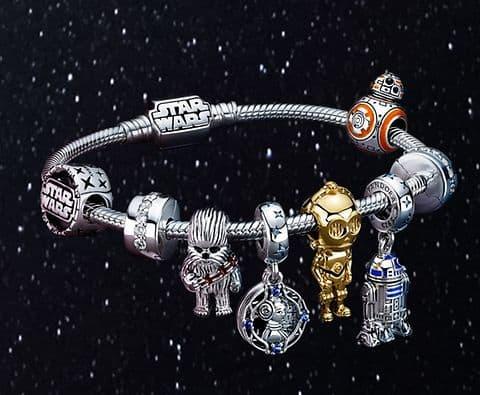 Collection Star Wars Bracelet et Charm