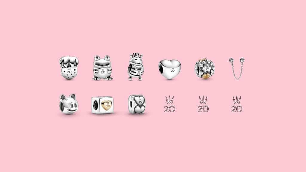 Collection 20 ans pandora : De Janvier à Septembre
