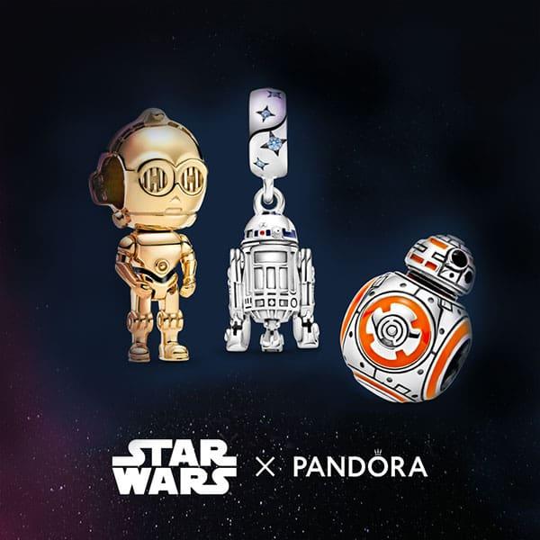 Charm C-3PO, R2D2, BB8 de Star Wars