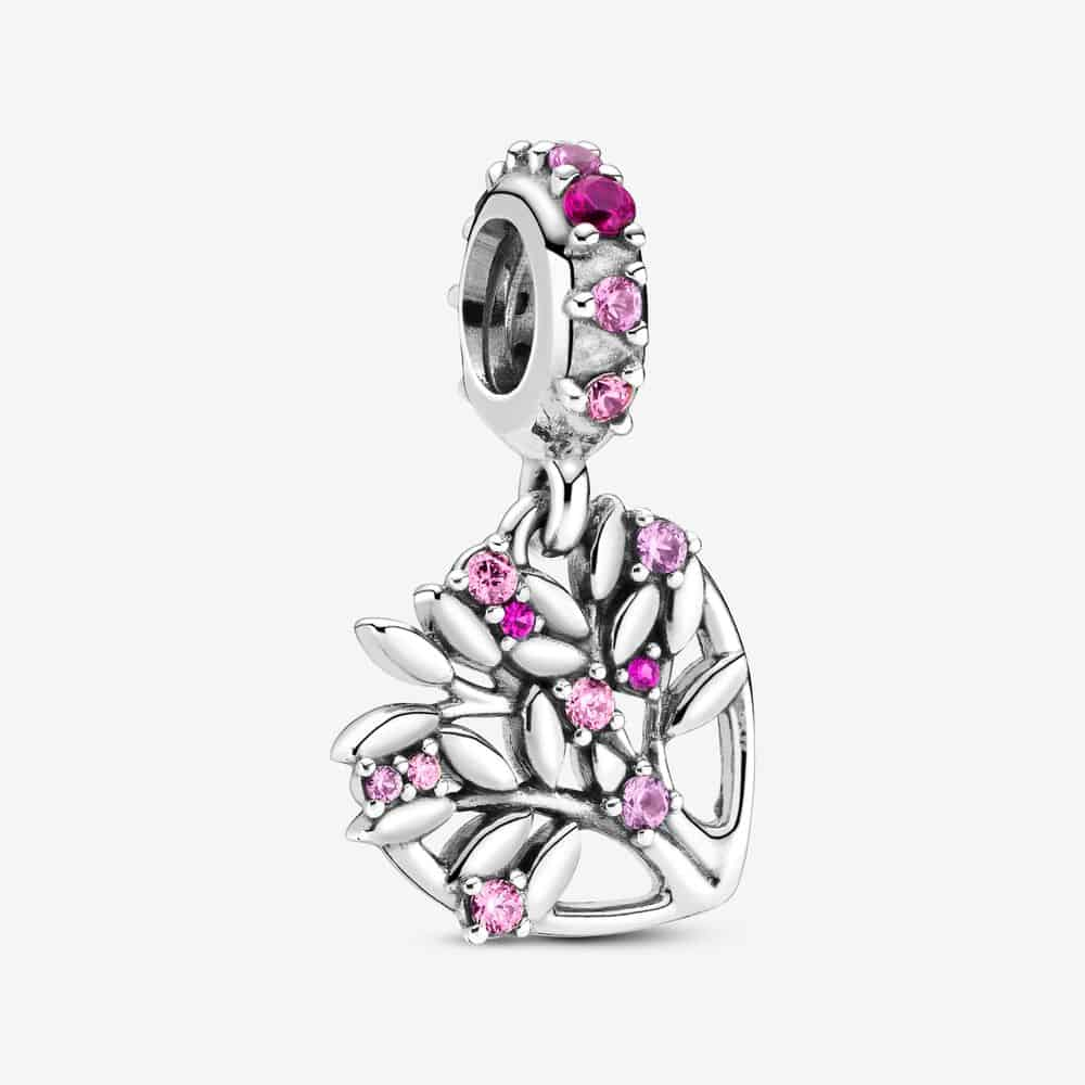 Charm Pendant Arbre De Vie Cœur Rose 45,00 € - 799153C01