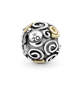 Charm des 20 ans Collection Pandora Octobre 99€
