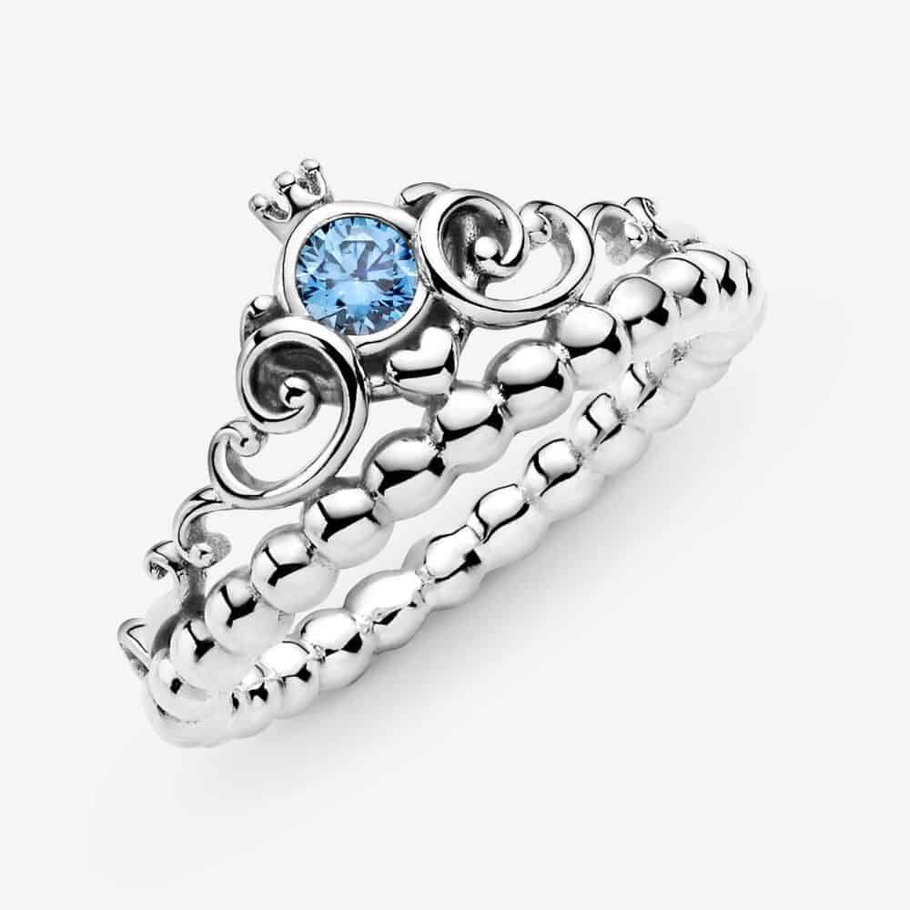 Bague Disney Cendrillon Diadème Bleu 59,00 € - 199191C01